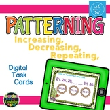 Number Patterning - Interactive Digital Task Cards - Boom Cards