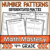 Number Patterns Worksheets