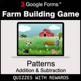 Number Patterns: Addition & Subtraction   Farm Building Ga