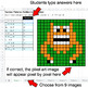 Number Patterns: Addition & Subtraction - Google Sheets - Monsters