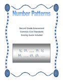 Number Patterns Assessment