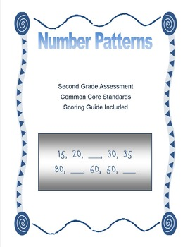 Number Patterns Assessment