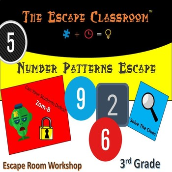 Number Patterns Escape Room (3rd Grade) | The Escape Classroom
