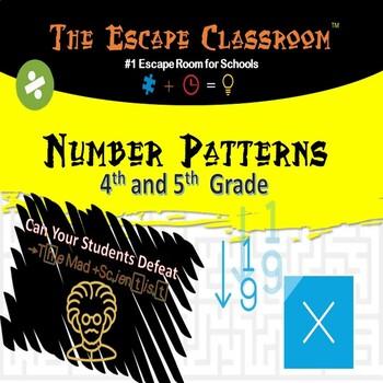 Number Patterns Escape Room (4-5 grade)   The Escape Classroom