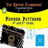 Number Patterns Escape Room (4-5 grade) | The Escape Classroom