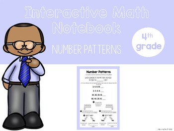 Number Patterns Interactive Notebook