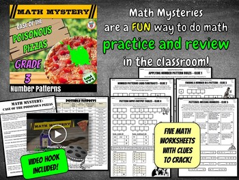 Number Patterns Review: Continuing & Missing Number Patterns Distance Learning