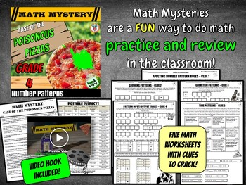 Number Patterns Review: Growing, Geometric & Time Patterns