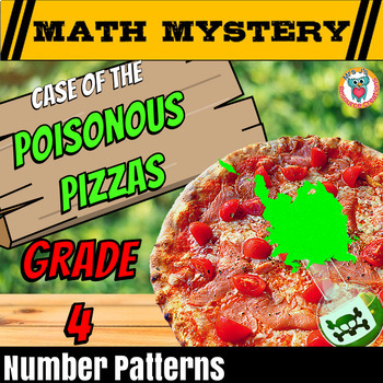 Number Patterns Math Mystery Activity: Growing, Geometric
