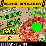 2nd Grade Number Patterns Review Activity - Math Mystery