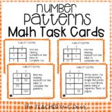 Number Patterns Task Cards | Number Patterns Center | Number Patterns Game
