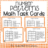 5th Grade Number Patterns Task Cards | Number Patterns Center