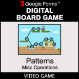 Number Patterns: Misc Operations - Digital Board Game | Go
