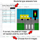 Number Patterns: Misc Operations - Google Sheets Pixel Art - City