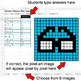 Number Patterns: Misc Operations - Google Sheets Pixel Art - Hipsters