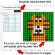 Number Patterns: Misc Operations - Google Sheets Pixel Art - Jungle Animals