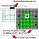 Number Patterns: Misc Operations - Google Sheets Pixel Art - Monsters