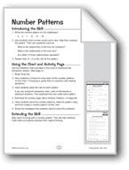 Number Patterns (Patterning)