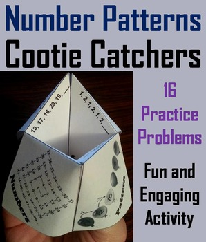 Number Patterns Game, Number Sequence Activity 3rd 4th 5th