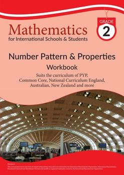 Grade 2 Math Number Pattern & Properties Workbook from BeeOne Books
