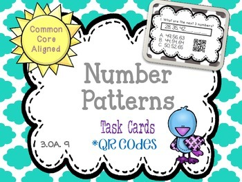 Number Patterns QR Codes