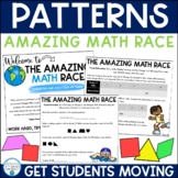 Number Patterns Review (Amazing Math Race)