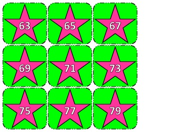 Number Patterns Sorting Cards (2s, 5s, and 10s)