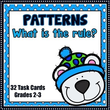 Number Patterns - What is the Rule? (Winter)