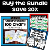 Number Patterns Worksheets and Task Cards