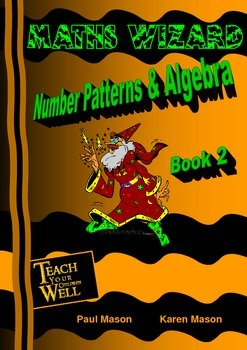 Number Patterns and Algebra - Book 2 - 35 + pages