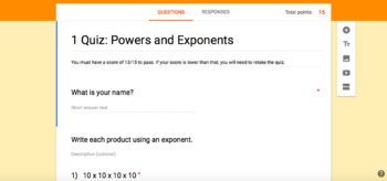 Number Patterns and Functions: Powers and Exponents