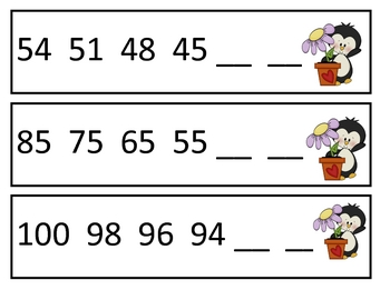 Number Patterns and Skip Counting