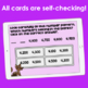 Number Patterns and Skip Counting Digital Task Cards