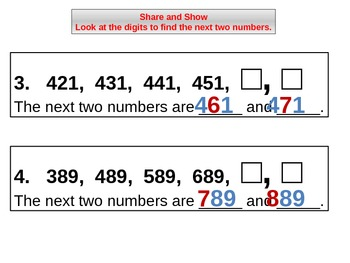 Number Patterns for Visual Learners