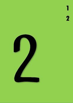 Number Pegs