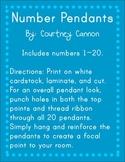 Number Pendants