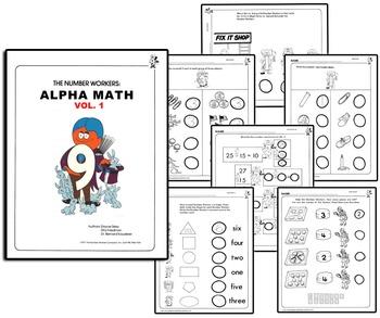 Number People Worksheets - Alpha Math Handouts Vol. 1