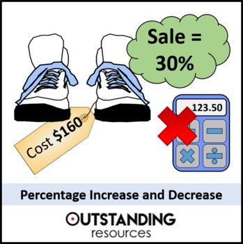 Number: Percentages 3 - Increasing and Decreasing by a Percentage (non calc)