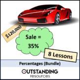 Percentages Bundle (7 Lessons)