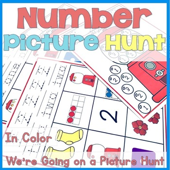 Number Picture Hunt in Color
