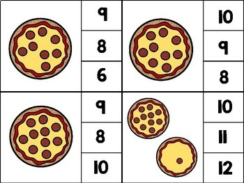 Number Pizza: Counting 0-20