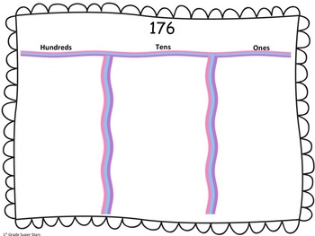 Place Value Mats (all numbers 100 - 500)
