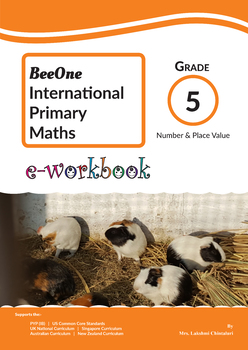 Number & Place Value: Grade 5 Maths from www.Grade1to6.com Books