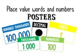 Number Place Value Posters