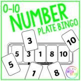 Number Plate Bingo (0 - 10)