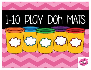 Number Play Doh Mats 1-10