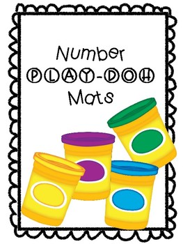 Number Play-Doh Mats