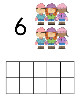 Number Play Doh Mats for ALL FOUR seasons