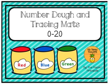 Number Play Doh and Tracing Mats 0-20