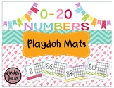 Number Playdoh Mats 0-20